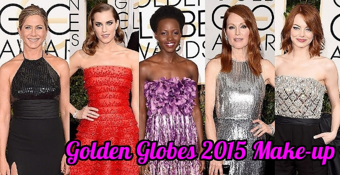 Best Beauty Looks at the 2015 Golden Globes