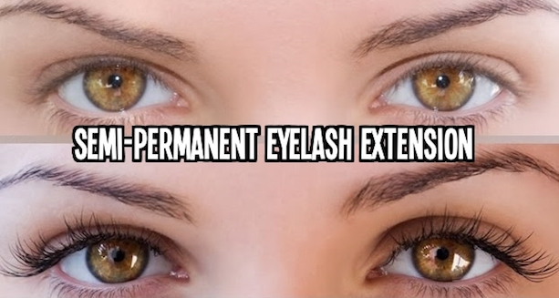 Semi-Permanent Eyelash Extension