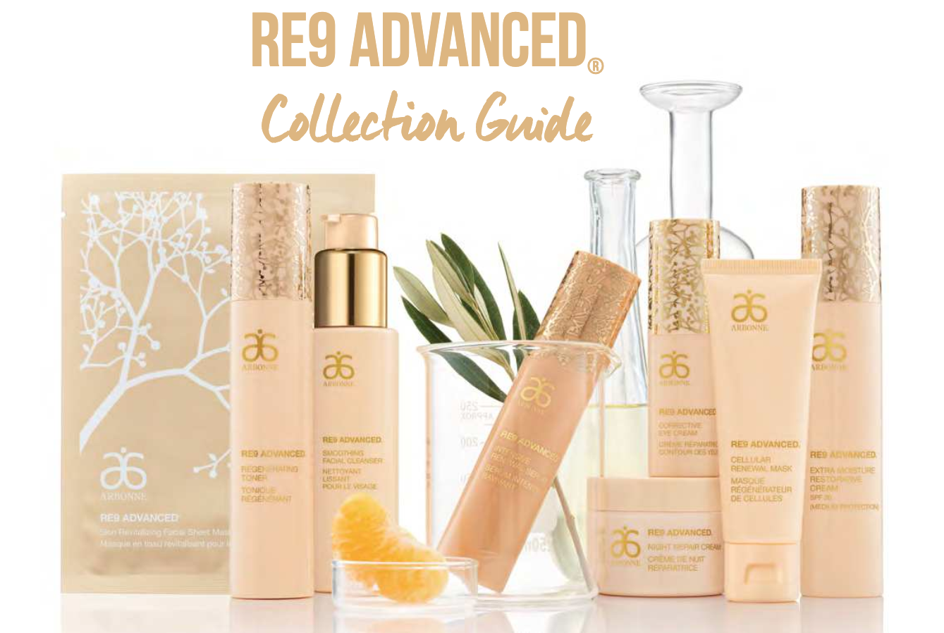 Arbonne RE9 Advanced Collection